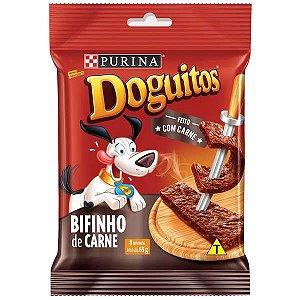 Petisco Nestlé Purina Doguitos Bifinho de Carne para Cães 65 g