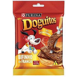 Petisco Nestlé Purina Doguitos Bifinho de Frango para Cães 65 g