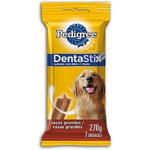 Petisco Pedigree Dentastix para Cães Adultos Raças Grandes - 7 Unidades