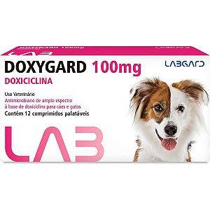 Antimicrobiano Labgard Doxygard 100 mg para Cães de Raças Médias