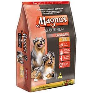 Ração Magnus Super Premium Carne com Arroz para Cães Adultos 15 kg