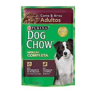 Ração Úmida Dog Chow Sabor Carne Para Cães Adultos