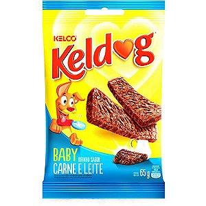 Bifinho Kelco Keldog Baby Carne e Leite - 65 g