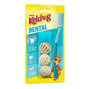 Osso Kelco Keldog Dental Bolinha 60 g