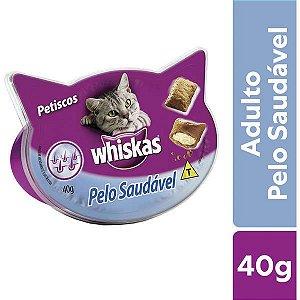 Petisco Whiskas  Pelo Saudável para Gatos Adultos - 40 g