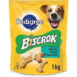 Biscoito Pedigree Biscrok para Cães Adultos de Raças Pequenas 1 kg