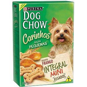 Petisco Dog Chow Carinhos Integral Mini Frango para Cães Adultos Raças Pequenas 500 g