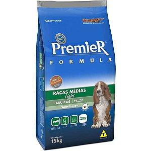 Ração Premier Formula Cães Adultos Light - 15 Kg