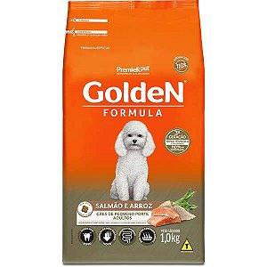 Ração Golden Formula Salmão e Arroz para Cães Adultos de Raças Pequenas