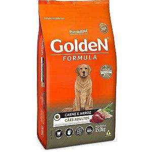 Ração Golden Formula Carne e Arroz para Cães Adultos 15 Kg