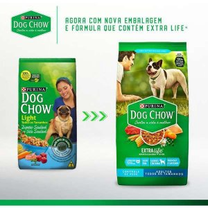 Ração Dog Chow Light para Cães Adultos
