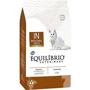 Ração Equilíbrio Veterinary IN Intestinal Gatos Adultos