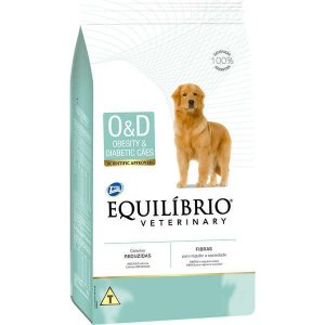 Ração Equilíbrio Veterinary O&D Obesity & Diabetic Cães Adultos 2 kg