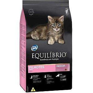 Ração Equilíbrio para Gatos Filhotes Indoor 1,5 kg