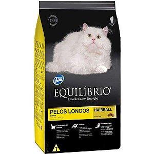 Ração Equilíbrio para Gatos de Pelos Longos Hairball 1,5 kg