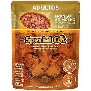 Ração Úmida Special Cat Sachê Frango para Gatos Adultos 85 g