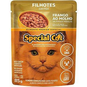 Ração Úmida Special Cat Sachê Frango para Gatos Filhotes 85 g