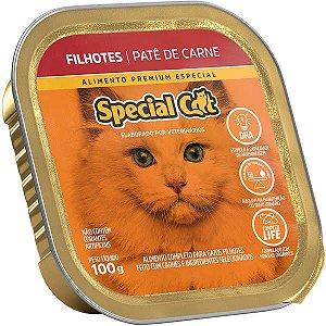Ração Úmida Special Cat Patê Carne para Gatos Filhotes 100 g
