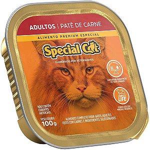 Ração Úmida Special Cat Patê Carne para Gatos Adultos 100 g