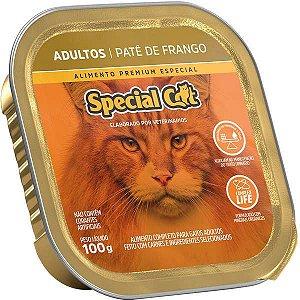 Ração Úmida Special Cat Patê Frango para Gatos Adultos 100 g