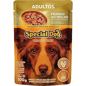Ração Úmida Special Dog Sachê Frango para Cães Adultos 100 g
