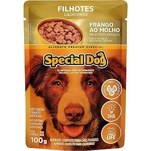 Ração Úmida Special Dog Sachê Frango para Cães Filhotes 100 g