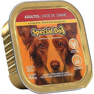 Ração Úmida Special Dog Patê Carne para Cães Adultos 150 g
