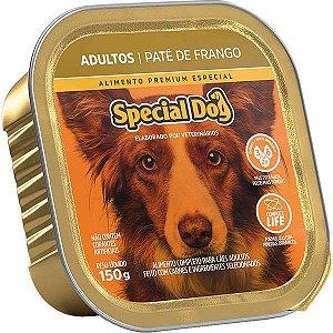 Ração Úmida Special Dog Patê Frango para Cães Adultos 150 g