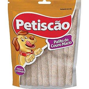 Palito de Couro Petiscão Sabor Carne - 10 Unidades