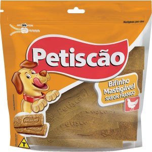 Bifinho Petiscão Petisquinho Tablete Frango 250 g