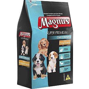 Ração Magnus Super Premium Frango e Arroz Cães Filhotes 10,1 kg