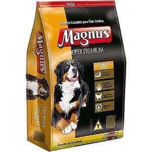 Ração Magnus Super Premium para Cães Adultos Sabor Frango 15 kg