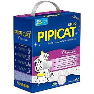 Areia Sanitária Pipicat Premium 5Kg