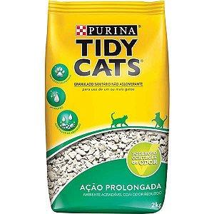 Areia Higiênica Nestlé Purina Tidy Cats para Gatos 2 kg