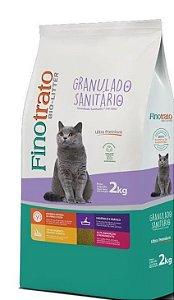Granulado Sanitário Ultra Premium Finotrato Bio-litter para Gatos 2 kg
