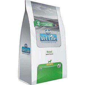 Ração Vet Life Natural Renal para Cães Mini 2 kg