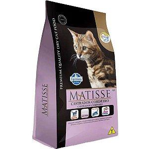 Ração Matisse Cordeiro para Gatos Adultos Castrados - 2 kg