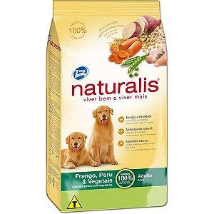 Ração Naturalis Frango,Peru e Vegetais para Cães Adultos 2 kg