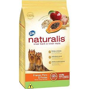 Ração Naturalis Frango, Peru e Frutas Cães Adultos Raças Pequenas 2 kg