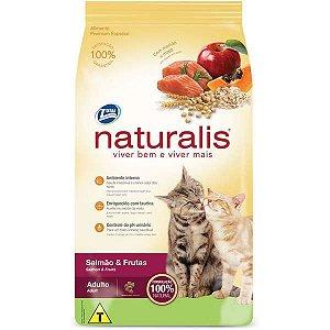 Ração Naturalis Salmão e Frutas para Gatos Adultos