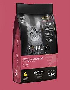 Ração Equalis Gato Castrado Adulto Salmão 10,1 kg