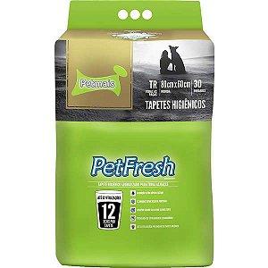 Tapete Higiênico Petmais Pet Fresh Aromatizado 30 Unidades