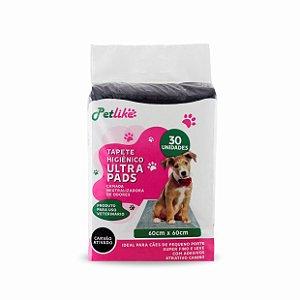 Tapete Higiênico Ultra Pads para Cães de Raças Pequenas 30 unidades