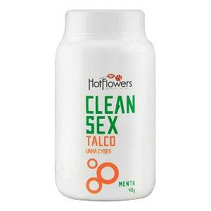 Clean Sex Talco Menta 40g