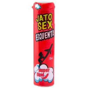 Jato Sex Gel Excitante Esquenta e Lubrifica 18ml Pepper Blend