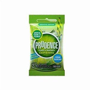 Preservativo Prudence Caipirinha 3 unidades