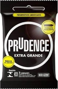 Preservativo Prudence Extra Grande 3 unidades
