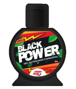 Gel eletrizante comestivel Black Power 15gr - Pepper Blend