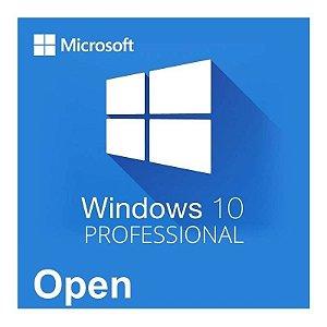 Licença Perpétua Windows Professional 10 SNGL OLP NL Legalization GetGenuine -Partnumber : FQC-09478 Microsoft OPEN - Regularização GGS