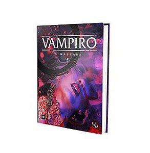 Vampiro: A Máscara - 5a. Edição PADRÃO (PRÉ-VENDA - envios previstos para 18/10 - podendo sofrer alterações)